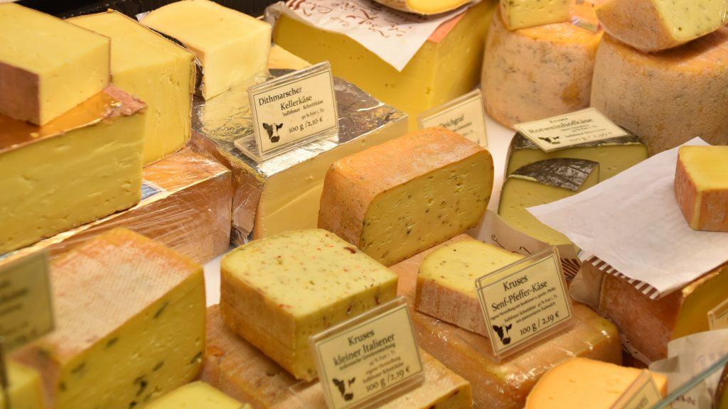 Photo of cheese by Waldemar Brandt on Unsplash.