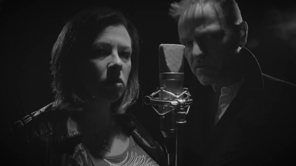Screenshot of Lowri Evans and Tom McRae in Careful video